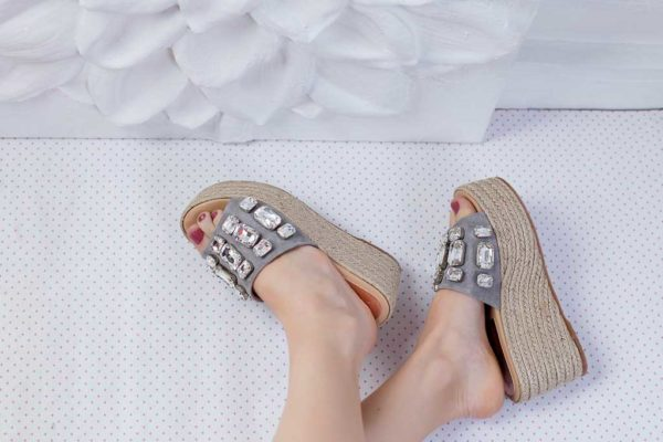 LAURA SUEDE GRIS W