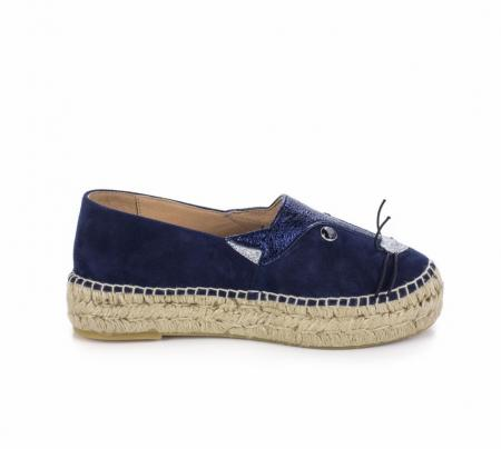 Abby Suede Navy